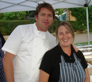 James Martin and Sue